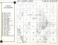 Carp Lake T49N-R44W, Ontonagon County 1959